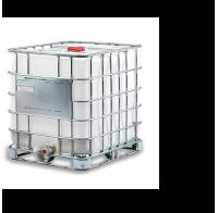 Дистиллированная вода в кубе